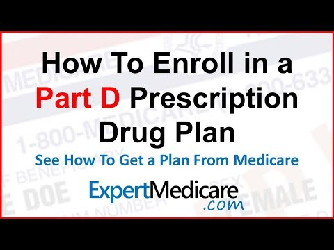 How to Enroll in Medicare Part D Drug Plan | ExpertMedicare.com