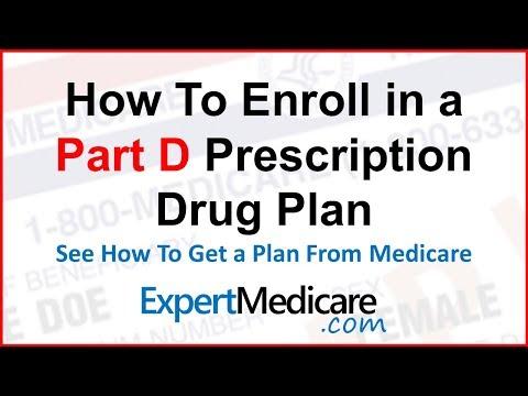How to Enroll in Medicare Part D Drug Plan | ExpertMedicare.com
